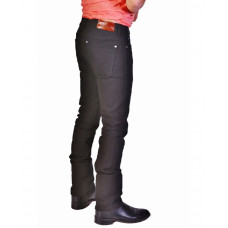 Bullet Blues Uptown Tapered Leg Black Skinny Jeans for Men - Made in USA