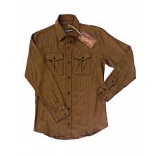 Bullet Blues Patton December Button-UP Shirt Made in USA