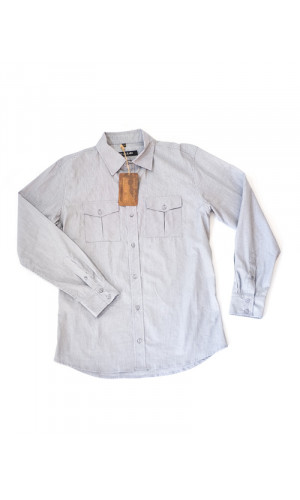 Bullet Blues Patton January Button UP Shirt Made in USA
