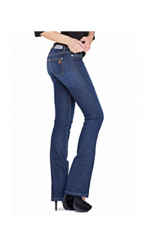 Bullet Blues Babe Nuit - Dark Wash Boot Cut Jean Made in USA