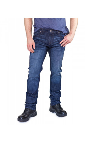Bullet Blues Rebel Indigo - Dark Blue Tapered Leg Jean Made in USA