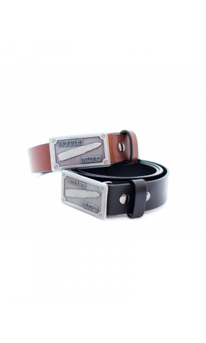 Bullet Blues Belt with Buckle - Designer Apparel Made in USA