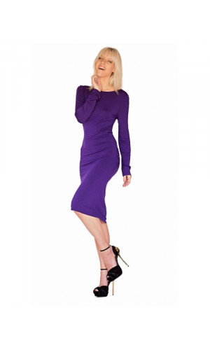 Bullet Blues Cecile Long Sleeve Dress Made in USA